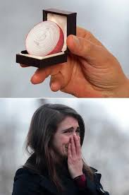 Proposal Meme - this onion engagement ring proposal would make me cry too humor