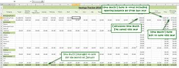 Saving Spreadsheet How To Track Your Savings With Spreadsheets An Excel Tutorial