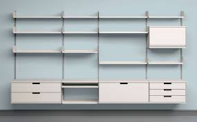 Office Wall Organizer System Stellar Storage Wall Systems Dieter Rams Shelving And