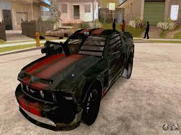 mustang death race for gta andreas
