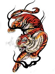 30 best tribal tiger tattoo drawings images on pinterest tribal