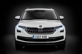 2017 skoda kodiaq makes public debut in paris autocar