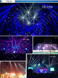 floor mounted stage lighting 3 in 1 glass dichroic prism msd l ballast dmx dimmer 36 channel