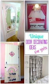 Curtain For Girls Room Decorating Door Ideas For Girls Design Dazzle