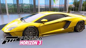 2012 Lamborghini Aventador - forza horizon 3 lamborghini aventador lp700 4 2012 youtube