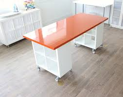 Diy Craft Desk Building A New Home The Formica Craft Table Made Everyday