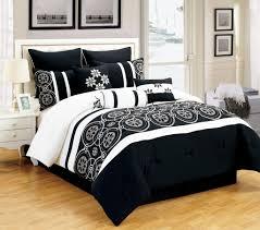 elegant bedroom comforter sets bedroom alluring bedroom with black and white comforter sets and