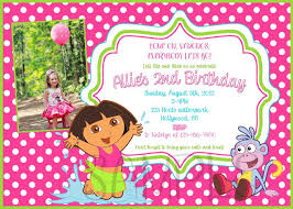 dora the explorer pool party invitation cake design