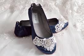 wedding shoes navy navy blue wedding shoes ballet flats 250 colors vintage