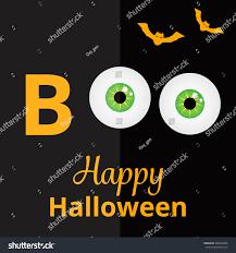 spooky background halloween boo scary eyes halloween card spooky stock vector 490334506