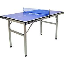 ping pong table black friday deal amazon com joola midsize compact table tennis table great for