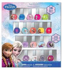 amazon com disney frozen best peel off nail polish deluxe gift