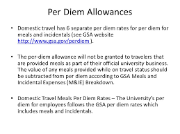 Massachusetts travel expenses images Per diem allowances effective december 1 2015 the daily per diem jpg