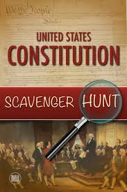constitution day scavenger hunt a primary source analysis