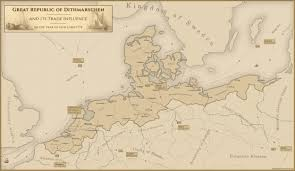 Run Map My Latest Dithmarschen Run With A Simple Trade Map Eu4
