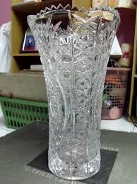 austrian vases antique stunning triangle grey modern glass with antique big austrian art