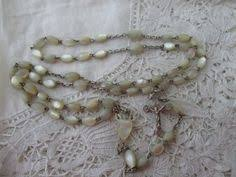 buy rosary antique rosary of pearl pearls