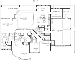 southwest house plans adobe southwestern style house plan 4 beds