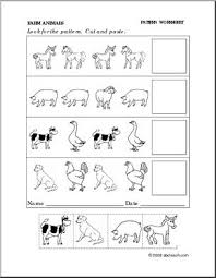 free worksheets animals worksheets for preschool free math