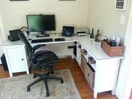 Awesome Office Desks Excellent Desk Minus One Pedestal Plus Sofa Table Plus Glass Top