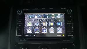 can not find user manual for gps dvd headunit vw touran 2din