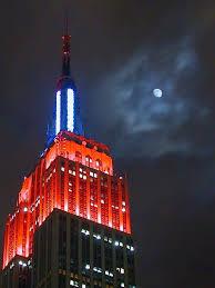 empire state building lights tonight light up for japan light talk