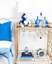 burly puff home decor inspiration the perfect bar cart