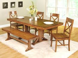 pine dining room set rustic dining table with bench dining room rustic table set black