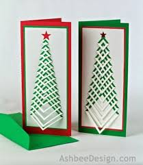 ashbee design silhouette projects diy christmas card design