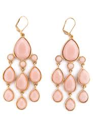 pink earrings pretty in pink earrings by fragments for 10 rent the runway