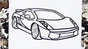imagenes de ferraris para dibujar faciles como dibujar un carro how to draw cars como desenhar carros