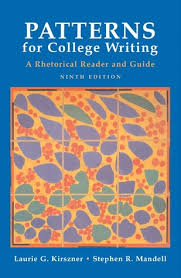patterns english book pdf patterns for college writing a rhetorical reader and guide by