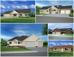 rv garage homes 34 best house floor plans images on pinterest 1200 sq ft ranch