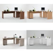 Flat Pack Computer Desk Till Large Corner Flat Pack Computer Desk Walnut Beech Oak White