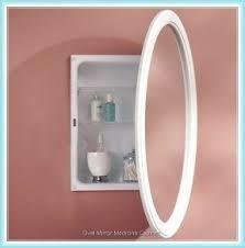 Mirrored Medicine Cabinet Doors by Oval Medicine Cabinet Mirror Foter