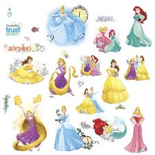 princess friendship adventures wall stickers disney princess friendship adventures wall stickers