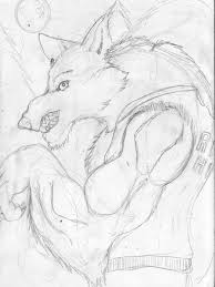 werewolf jock sketch u2014 weasyl