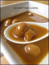 madere cuisine sauce madère aux chignons quand nad cuisine
