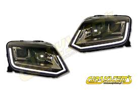 amarok 2h0 oem bi xenon led drl headlights