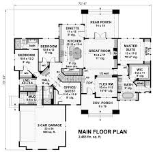 rambler floor plans project for awesome builder house plans home