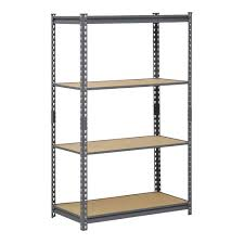 Wire Shelving Lowes by Furniture Menards Garage Shelving Edsal Shelving Black Wire