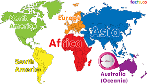 Map Quiz Africa by Australia On World Map Roundtripticket Me