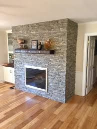 fireplace makeover creative faux panels