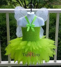 Green Tutu Halloween Costume Fairy Costume Tinkerbell Costume Tinker Bell Costume Fairy