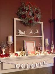 fireplace christmas decorations back to basics gorgeous