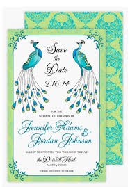peacock invitations peacock wedding invitations template cactusdesigners