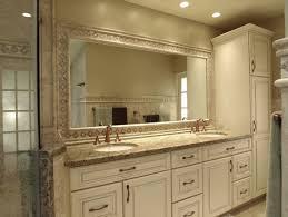 bathroom vanity and corner linen cabinet laluz nyc home design