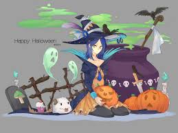 happy halloween artwork halloween leblanc skin concept lol wallpapers