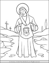catholic coloring pages printable saint pagessaint kids free