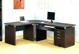 L Desk Modern L Shaped Computer Desk Ikea Black L Desk Large Size Of Corner L